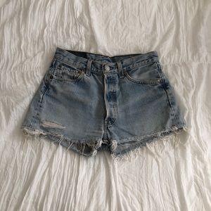 Levi's High Waisted Vintage Shorts